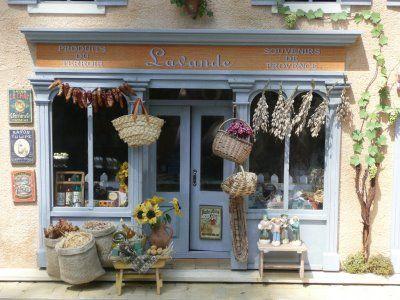 gorgeous mini Doll houses Pinterest Maison de provence - la maison de l artisan