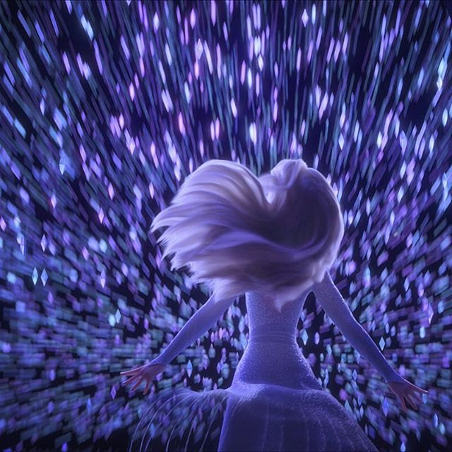 "Photo of NARA YOUN on Instagram: ""Where are you going Elsa? ✨ UK trailer just revealed a snap from one of my all time favorite sequences to have been part of in #FROZEN2 .…"""