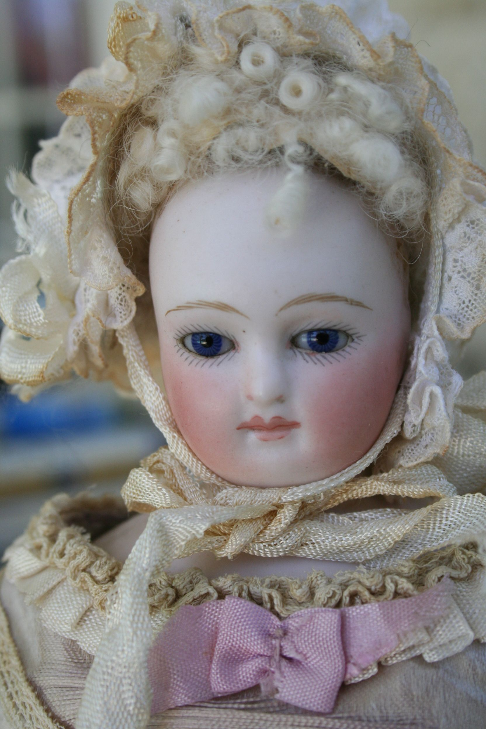 Early Barrois French Fashion Doll sold by Signature Dolls #DollShopsUnited