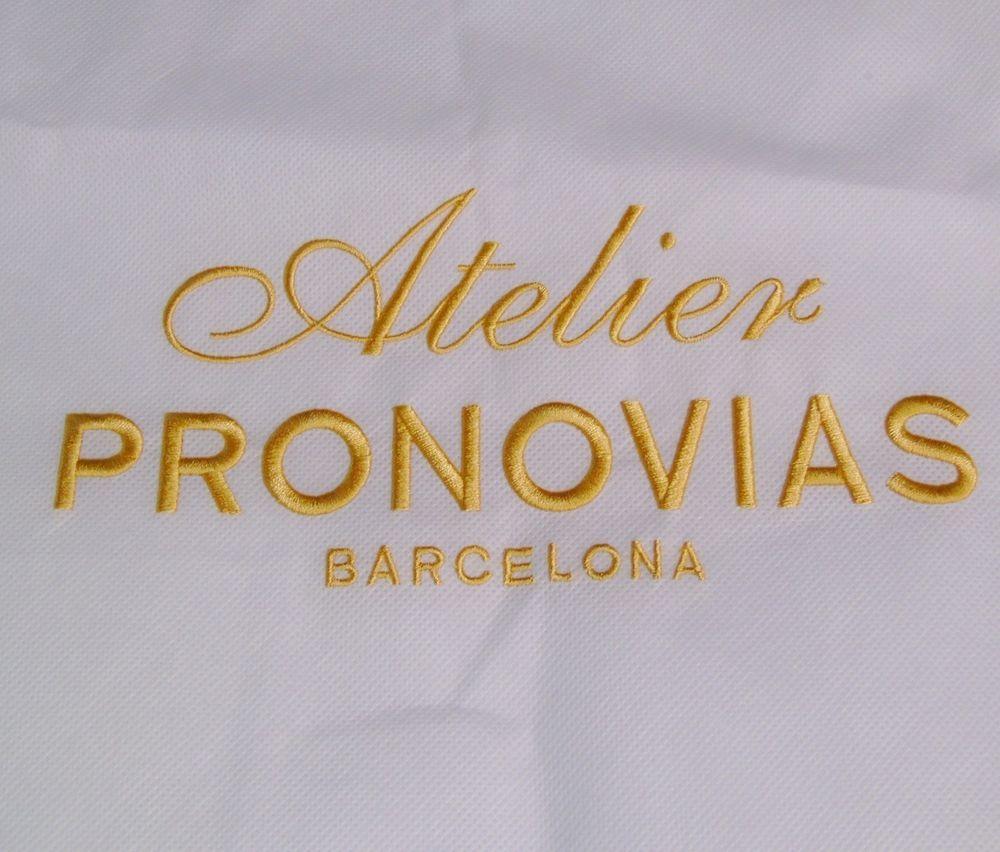 Atelier Pronovias Garment Bag Wedding Gown Cocktail Dress Storage Protection Atelierpronovias Weddinggown