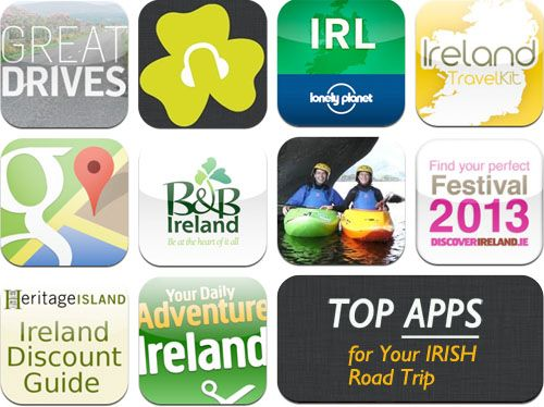 Smart phone apps for Travelling Ireland