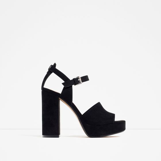 Mujer Zara Plataforma Cuna Plataforma Zapatos Cunas mujer Tricolor tQrhsd