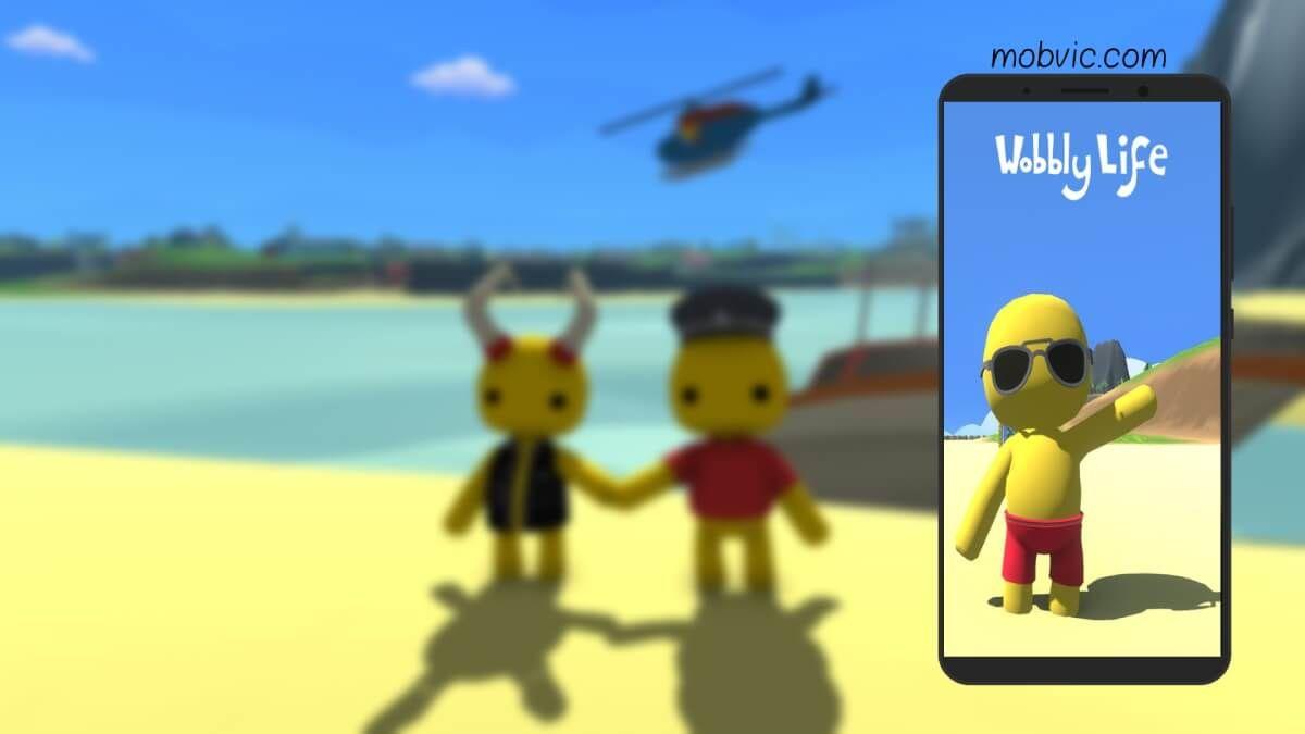 تحميل لعبة حياة ووبلي Wobbly Life للكمبيوتر والموبايل مجانا Games Life Free