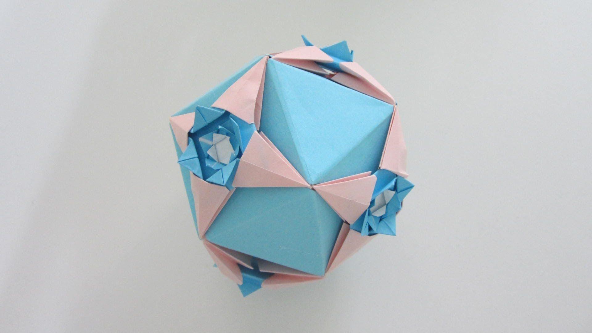 Ornamental Ball Tomoko Fuse Kusudamas E Modulares Pinterest Diagrams