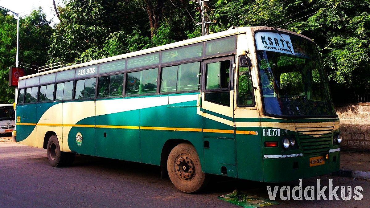 The Green Marauder! Kerala SRTC's Thrissur Bangalore