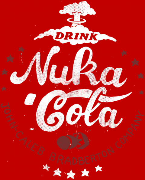 Drink Nuka Cola Shirtpunch Fallout T Shirt Cola