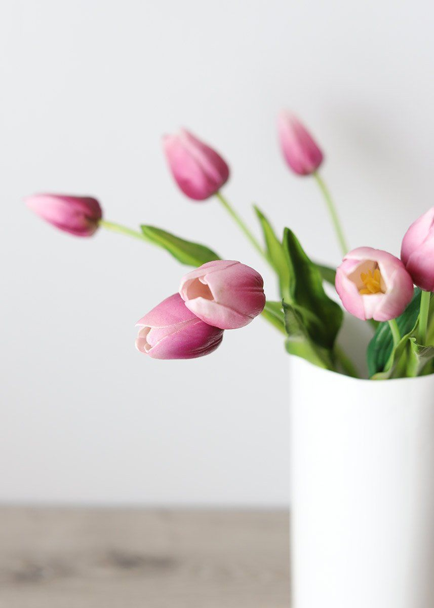 Fill Your Home With Flowers That Never Die Find Real Touch Tulips For Your Home Decor At A Real Touch Flowers Artificial Flowers Artificial Flowers And Plants