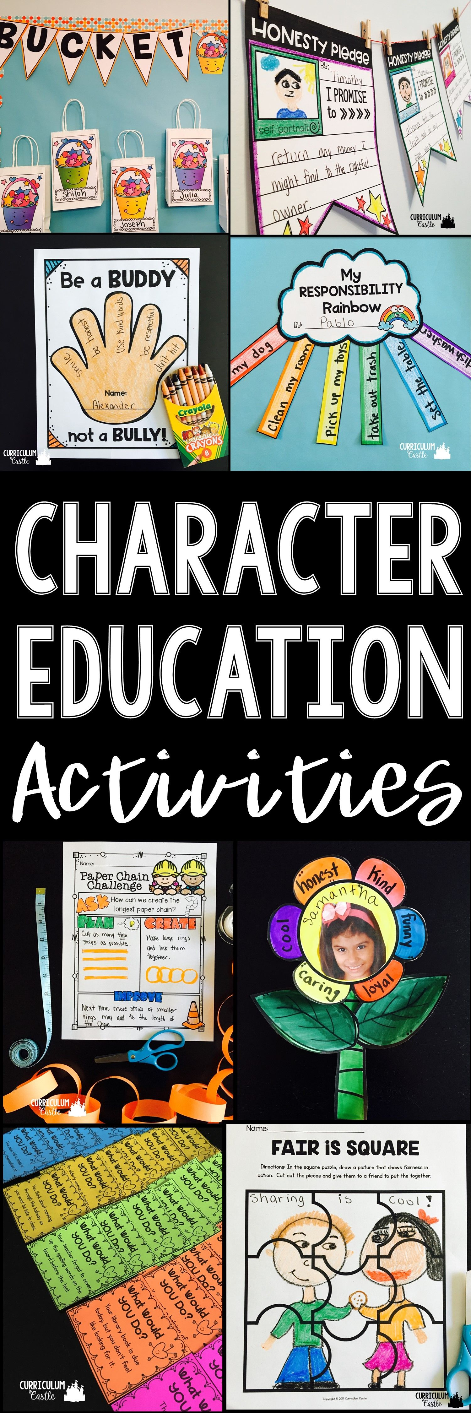 Kindness Amp Character Education Activities
