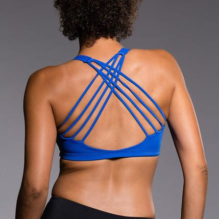 25c45d3b94a3b Sports bras never looked so cute! These 10 strappy sports bras all have  insanely cute designs. You won t be able to resist showing them and all of  your hard ...