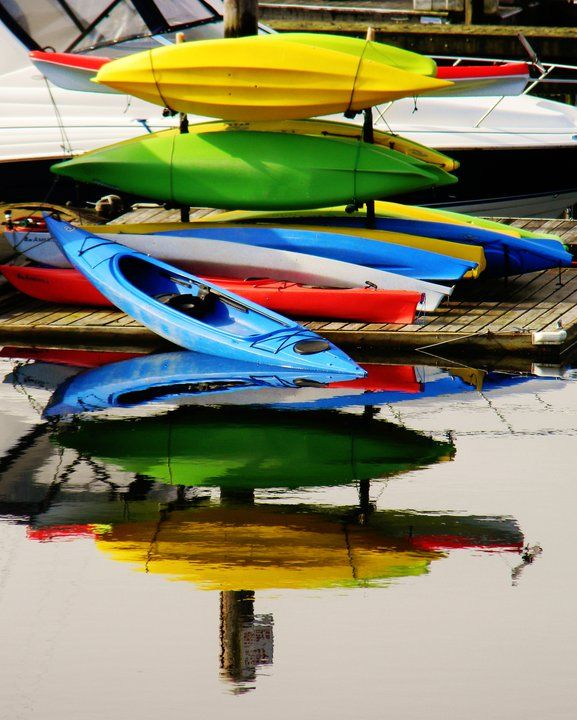 Kayaking is a reflection. Where thoughts are a result of meditation. It is a time for consideration of purpose.