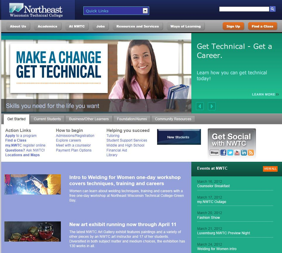 Northeast wisconsin technical college college wisconsin