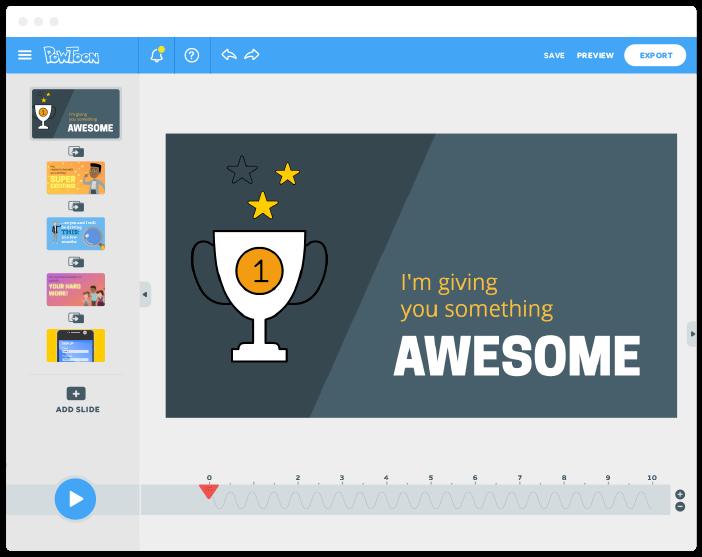 Powtoon Create Animated Videos For Work Or Play Video Marketing Marketing Tools Digital Storytelling