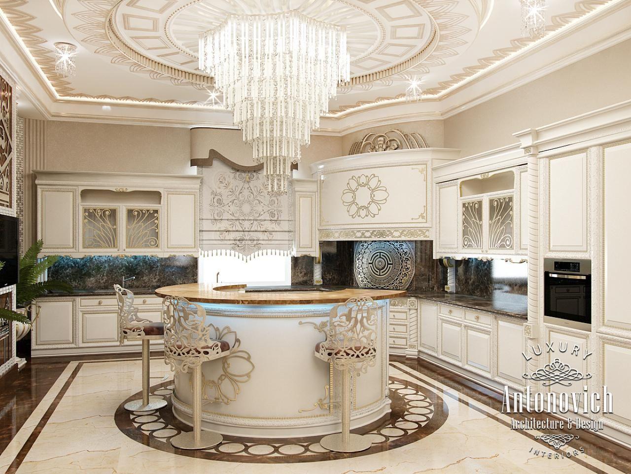 Kitchen Design in Dubai, Luxury Kitchen & Dining, Photo 1 | Дизайн ...