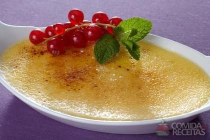 Receita de Creme brûlée original em receitas de molhos e cremes, veja essa e…