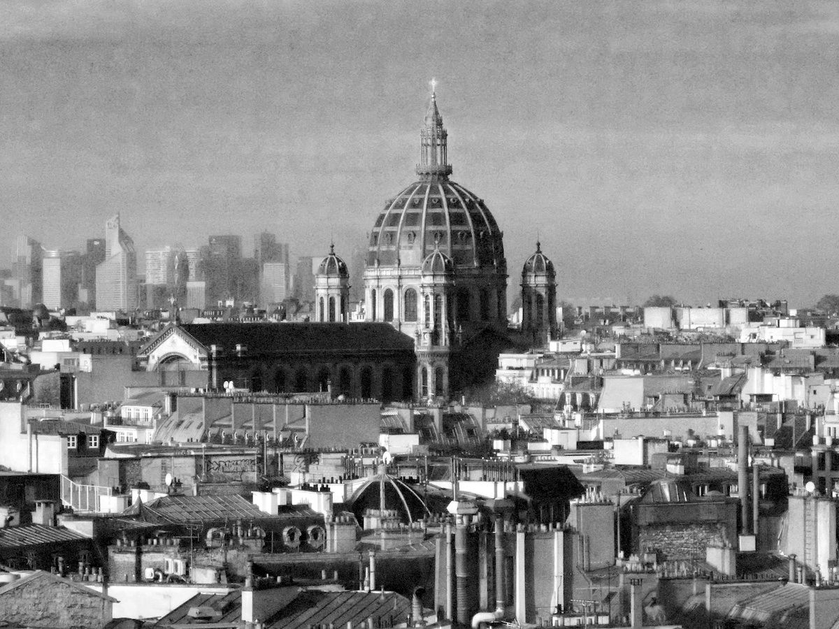 view over paris http://vickiarcher.com/2015/01/taking-the-time/