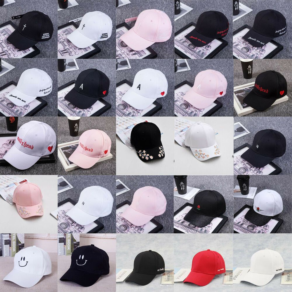 Men S Women S Dome Embroidery Baseball Baseball Cap Outdoor Hat Sun Shade Cap Fashion Clothing Shoes Accessor Outdoor Hats Baseball Cap Unisex Accessories