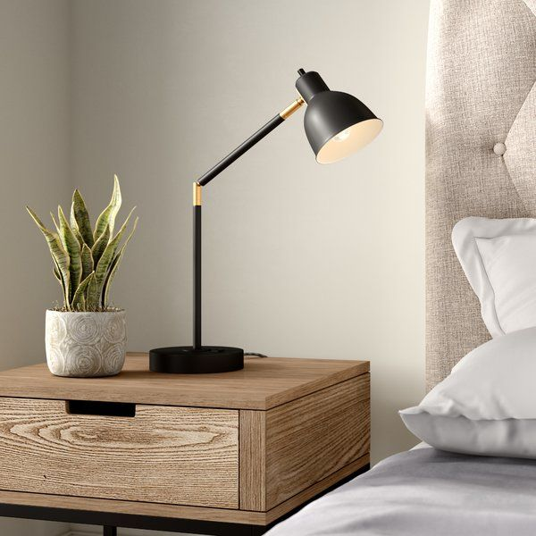 "wrought studio markey 21"" desk lamp  reviews  wayfair"