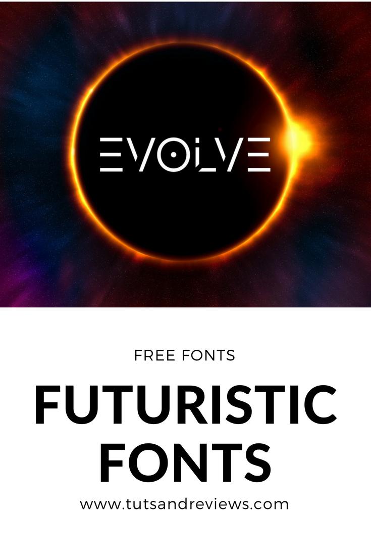 15 MUST HAVE FREE FUTURISTIC FONTS #fonts #free #freebie