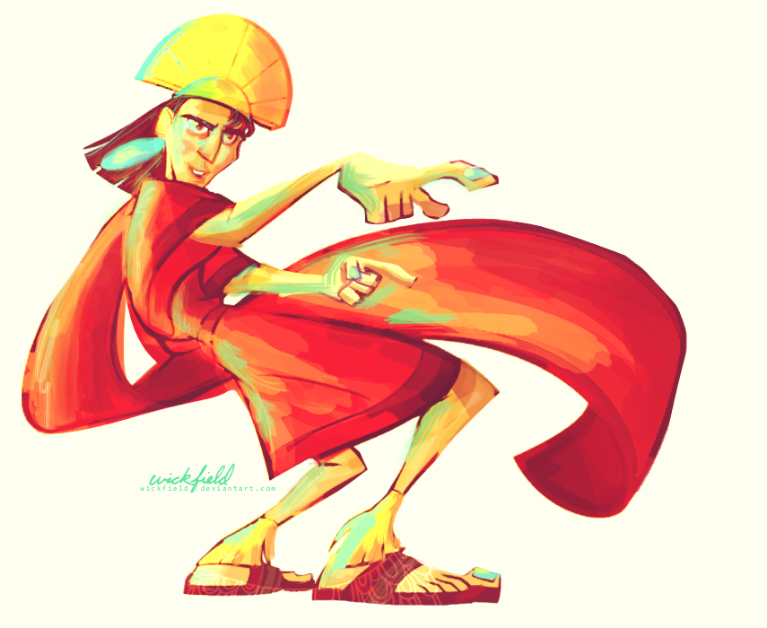 Kuzco Coloring Page By Wickfield.deviantart.com On