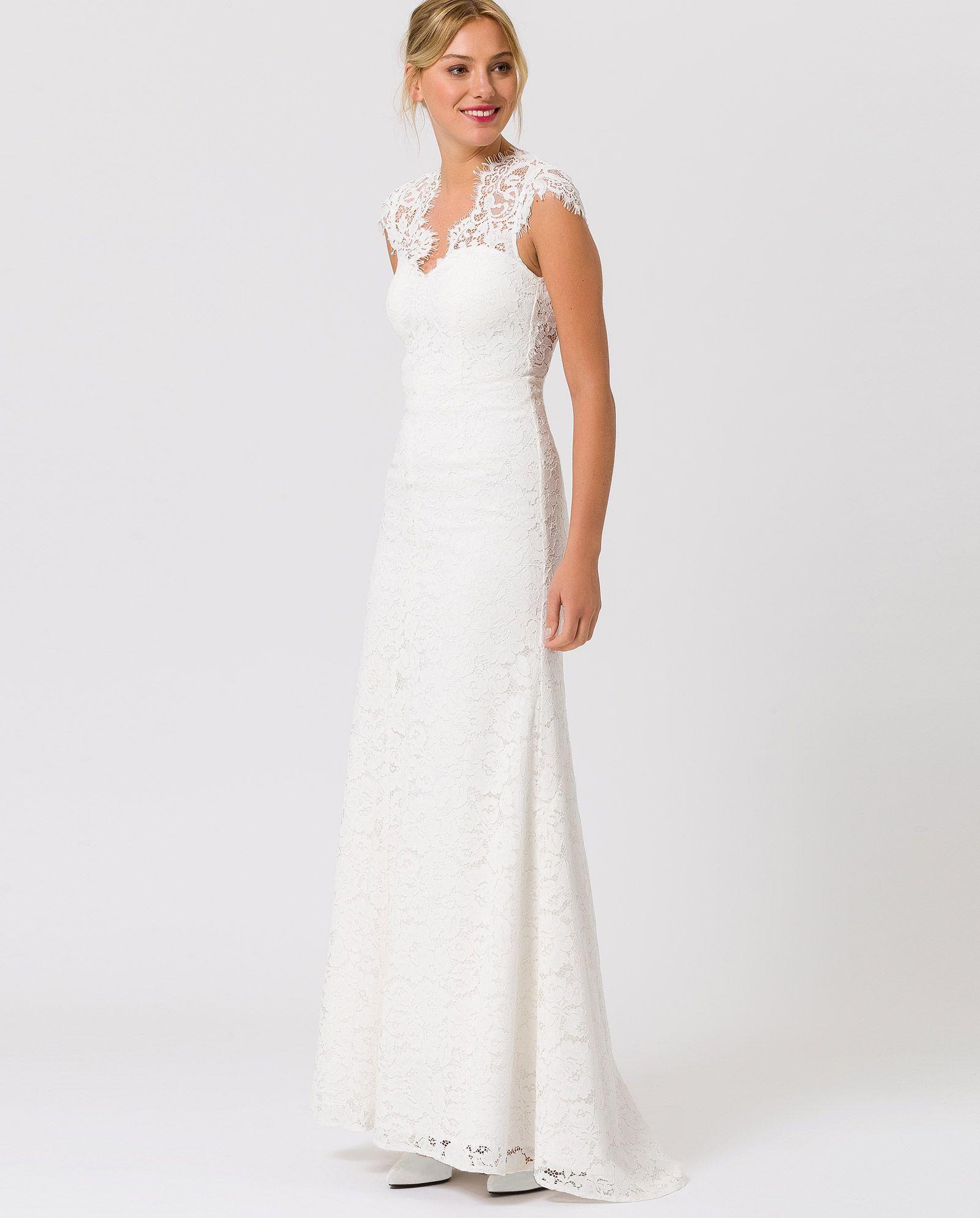 Bridal Lace Dress | Pinterest | Brautkleid spitze, Brautkleid und ...