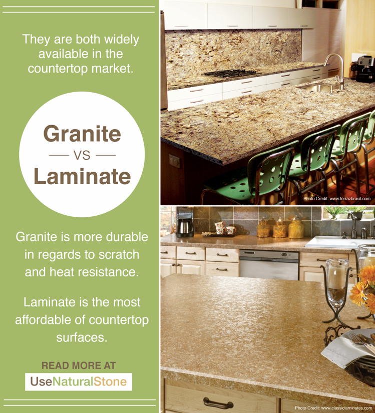 Granite Vs Laminate Countertops What Is The Difference