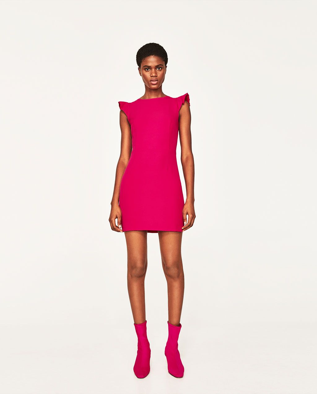 OPEN BACK DRESS WITH BOW-View All-DRESSES-WOMAN   ZARA United States