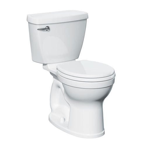 Titan Right Height Round Front Complete Toilet With Moisture Guard Insulated Tank At Menards Toilet Bathrooms Remodel Menards