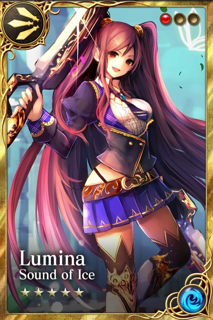 Lumina Anime, Card games, Art