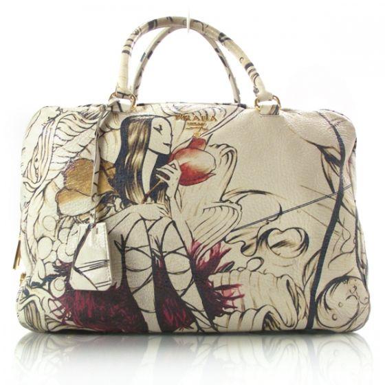 Prada Cervo Lux Fairy Fairies Bag Ltd Ed