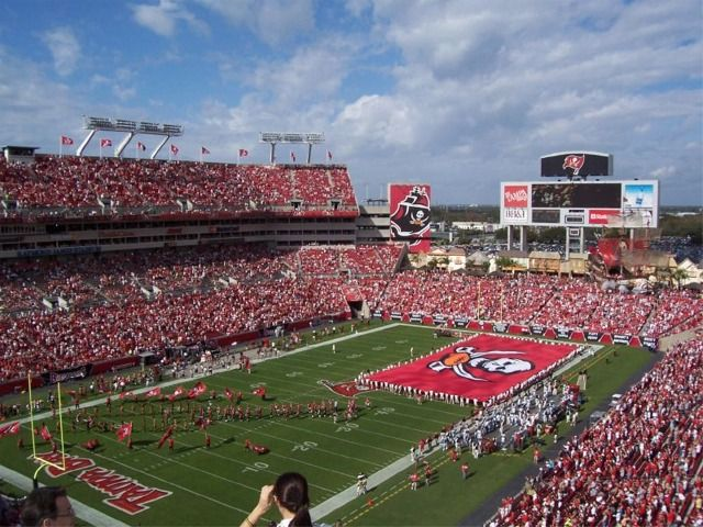 Raymond James Stadium Bucs Tampa Bay Buccaneers Tampa Bay Tampa Bay Bucs