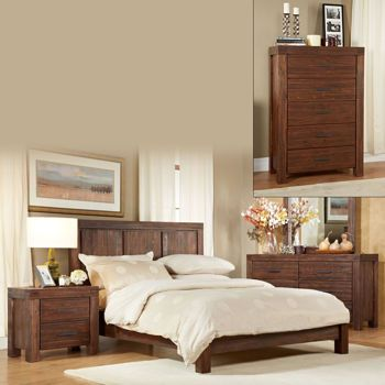 Mellina 6-piece Cal King Bedroom Set | 5B House - Decor ...