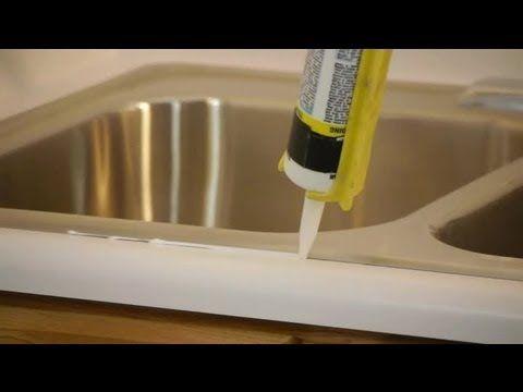 Kitchen Sink On A Laminate Countertop