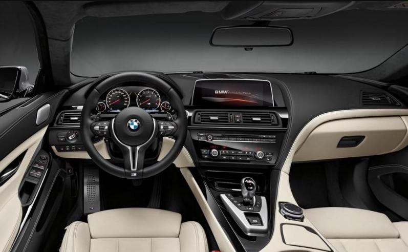 Interior Design Of 2018 BMW M6 Gran Coupe
