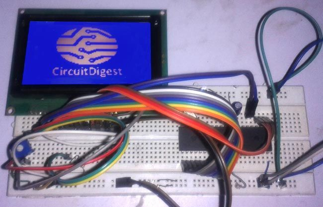 Displaying an Image on Graphical LCD using 8051