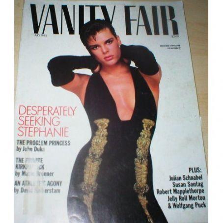 Princess Stephanie - Vanity Fair Magazine [United States] (July 1985)