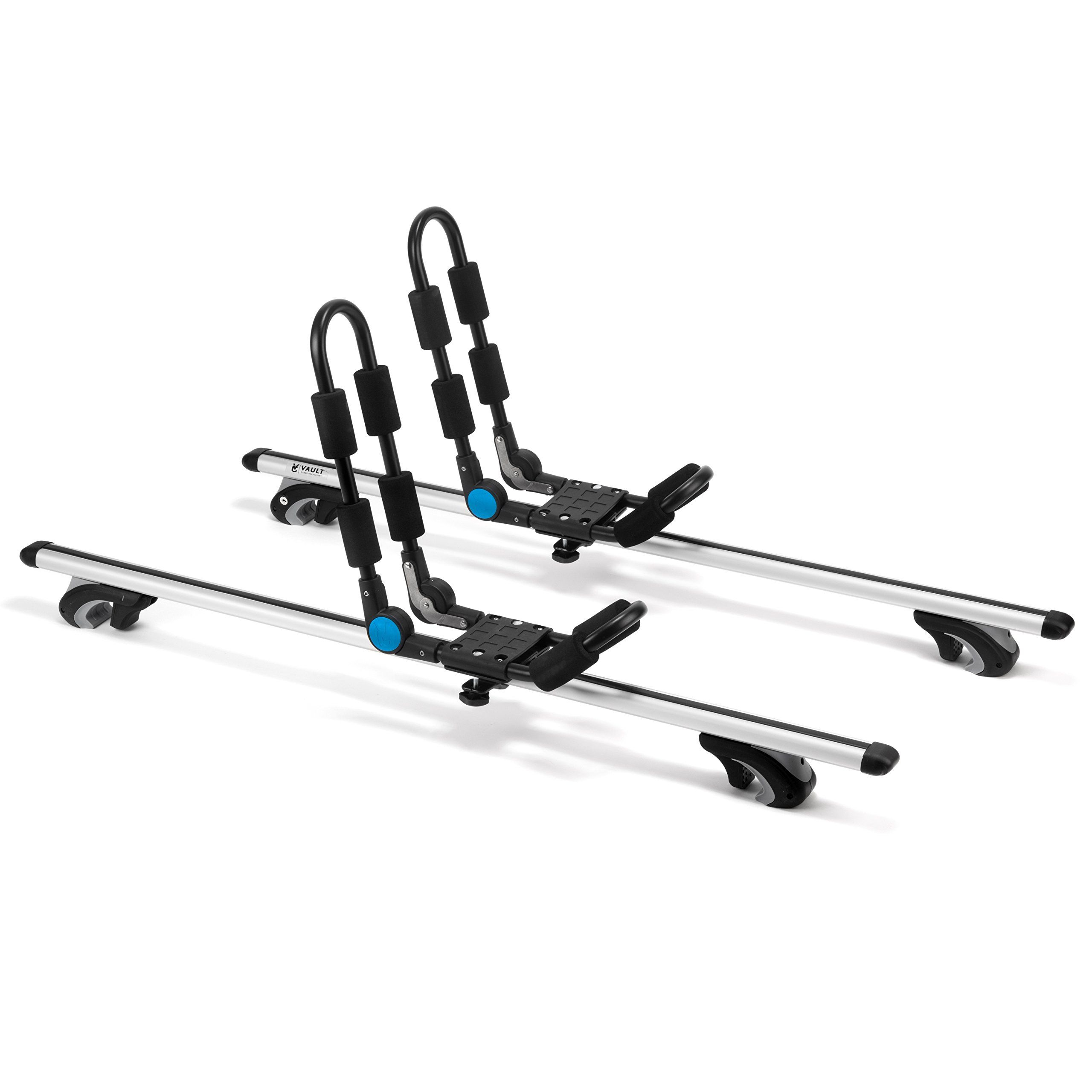 Universal Kayak Carrier Roof Rack by Vault Cargo – Set
