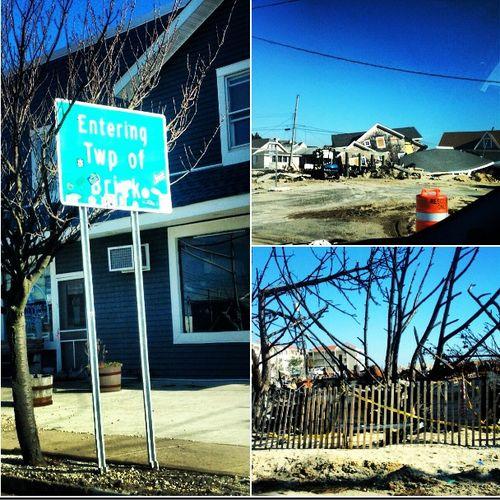 Brick Nj Hurricane Sandy Photos New Jersey Brick Hurricane Sandy Iphone Pictures Camp Osborne Restore Barrier Island Island Highway Signs