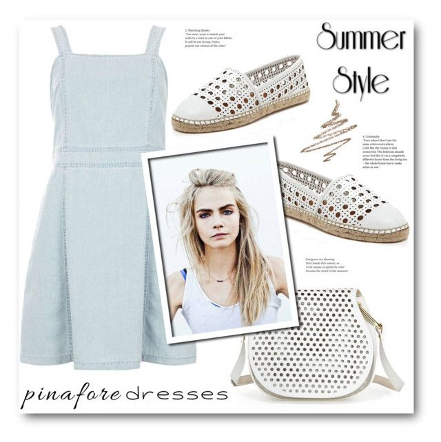 """""""Pinafores"""" by stranjakivana ❤ liked on Polyvore featuring Dorothy Perkins, Cynthia Rowley, Kate Spade, Anastasia Beverly Hills, pinafores and 60secondstyle"""