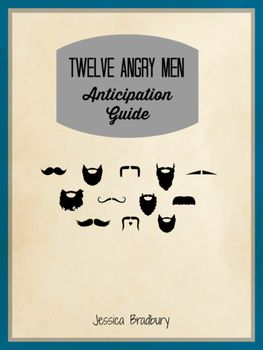 Twelve Angry Men Anticipation Guide Anticipation Guide Pre Reading Activities Critical Thinking Activities