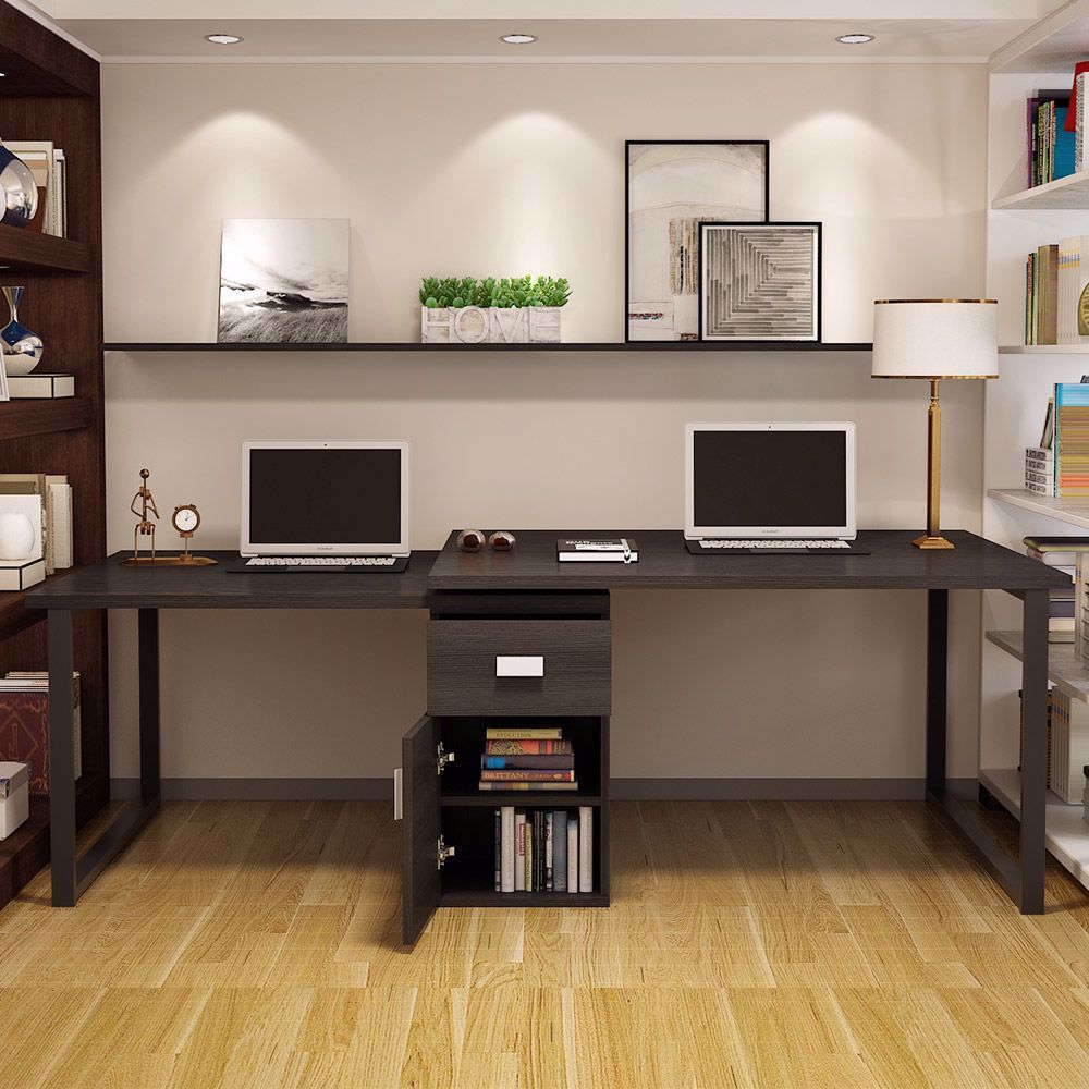 Modern L Shaped Computer Desk 360 176 Reversible Computer Desk In 2020 Small Room Design Home