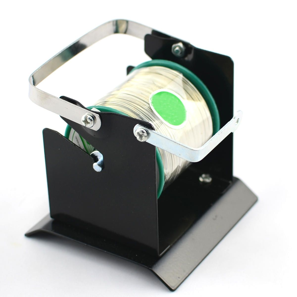 Solder Dispenser Tin Wire Spool Holder Metal Stand Soldering Reel ...
