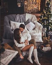 X-mas | Love | Couple | Relationship goal | Christmas tree | Happiness | Celebra…