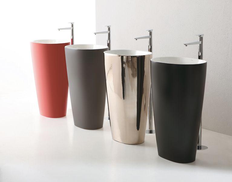 Un nouveau lavabo pour booster sa salle de bains | Lavabo, Salle de ...