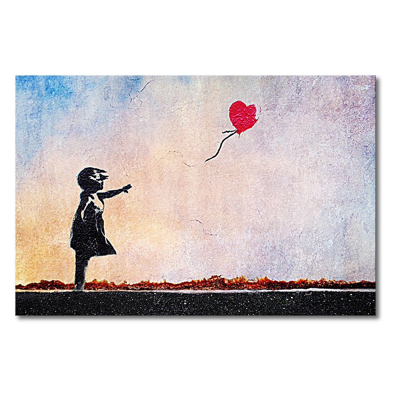 leinwandbild banksy no 14 leinwand beige schwarz wandbilder xxl jetzt bestellen unter https moebel ladendirek kunstproduktion leinwandbilder leinwanddrucke poster selbst gestalten