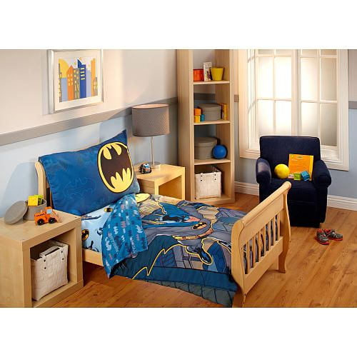 "Batman  4 Piece Toddler Bedding Set  Batman  Toys ""r"" Us  Baby Stunning Toddler Bedroom Set Design Inspiration"