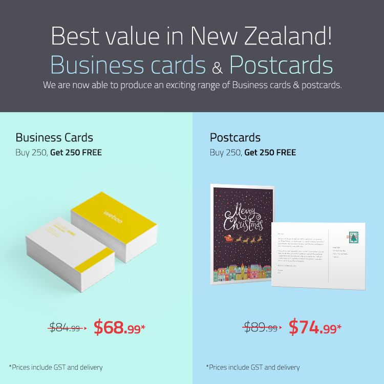 Business cards postcards are now available stickerdot exciting range of business cards postcards reheart Images