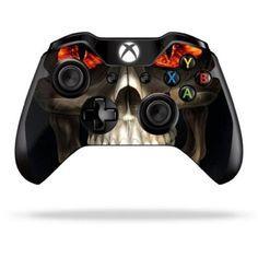 Acessório Protective Vinyl Skin Decal Cover for Microsoft Xbox One Controller Sticker Skins Evil Reaper #Acessório #Xbox One