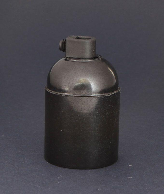 E27 Bakelite Bulb Holder Black Bakelite Lamp Holder