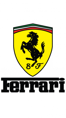 How To Draw Ferrari Logo World Brands Car Coloring Pages