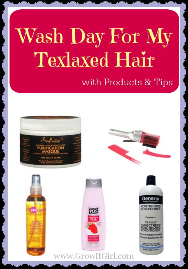 Wash Day For My Texlaxed Hair Healthy hair tips, Hair